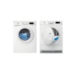 Electrolux set de lavage : lave-linge EW2F6824BA + sèche-linge EW7H4804DP(EDHF2804DP)