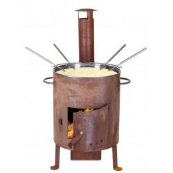 """Set à fondue """"poêle"""" Nouvel 401038"""